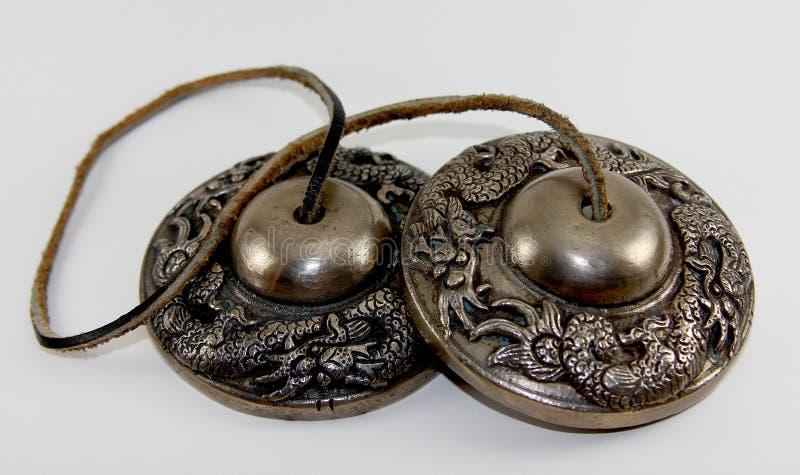 Tingsha Bells stock image