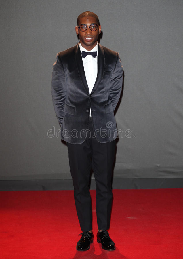 Tinie Tempah. Arriving for the 2013 British Fashion Awards, at The London Coliseum, London. 02/12/2013 Picture by: Alexandra Glen / Featureflash royalty free stock photography