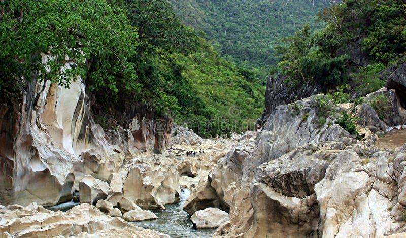 Tinipak-Fluss lizenzfreies stockbild