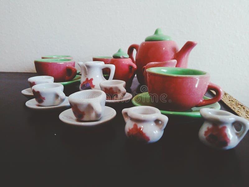 Tinker Pots stock image