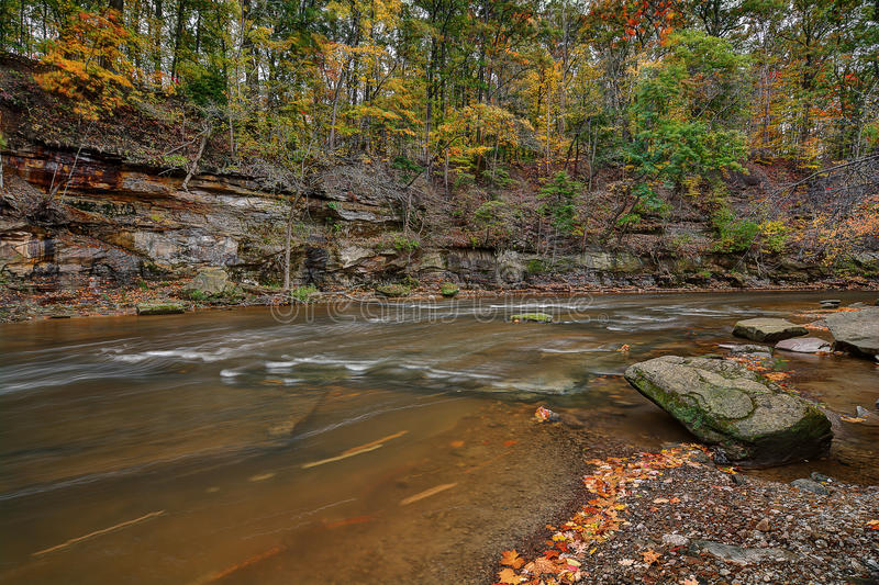 Tinker`s Creek Gorge royalty free stock photography