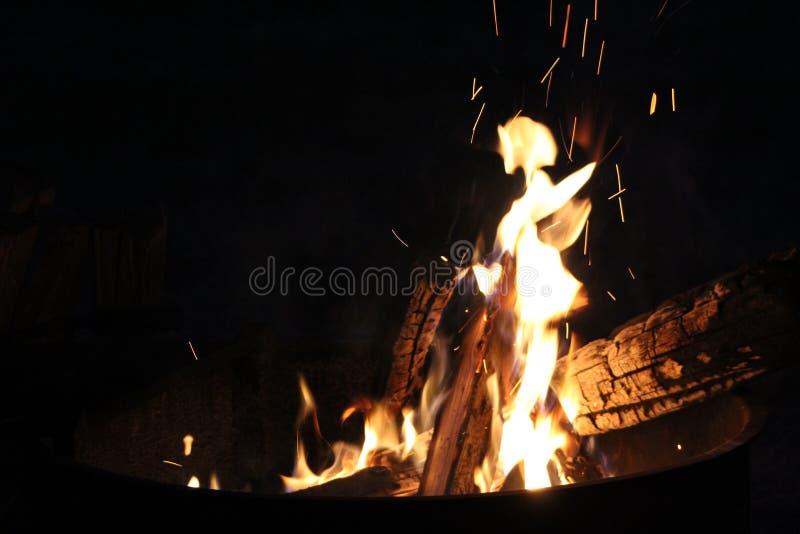 Tinkerbell è così caldo che è su fuoco fotografia stock