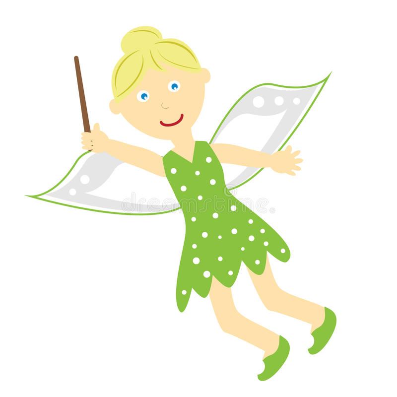 Tinkerbell Fairy royalty free illustration