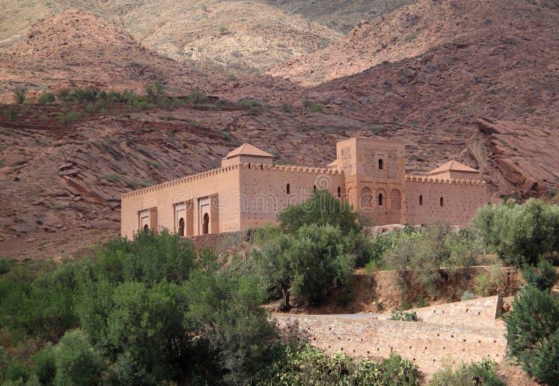 Tinmal moské i den höga kartboken arkivbilder