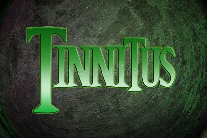 Tinnitus Concept. Text idea ear stock images