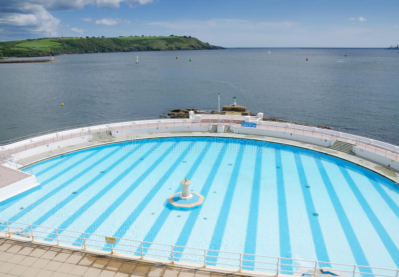 Tinside Lido. PLYMOUTH,ENGLAND. 22nd May 2016. Tinside Lido is about to re-open after its winter refurbishment stock images