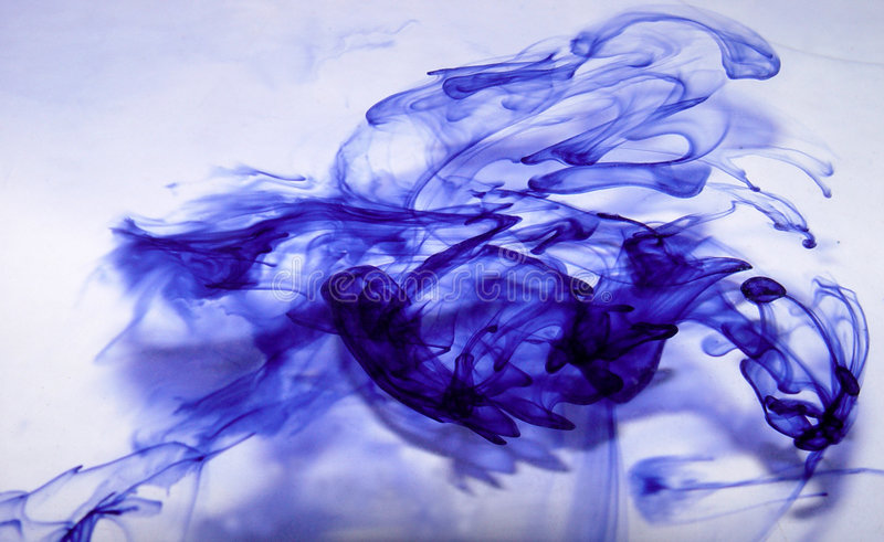 Tinta Abstrata Fotos de Stock Royalty Free