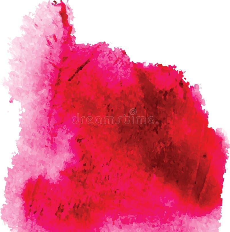 A tinta abstrata mancha o vetor ilustração stock