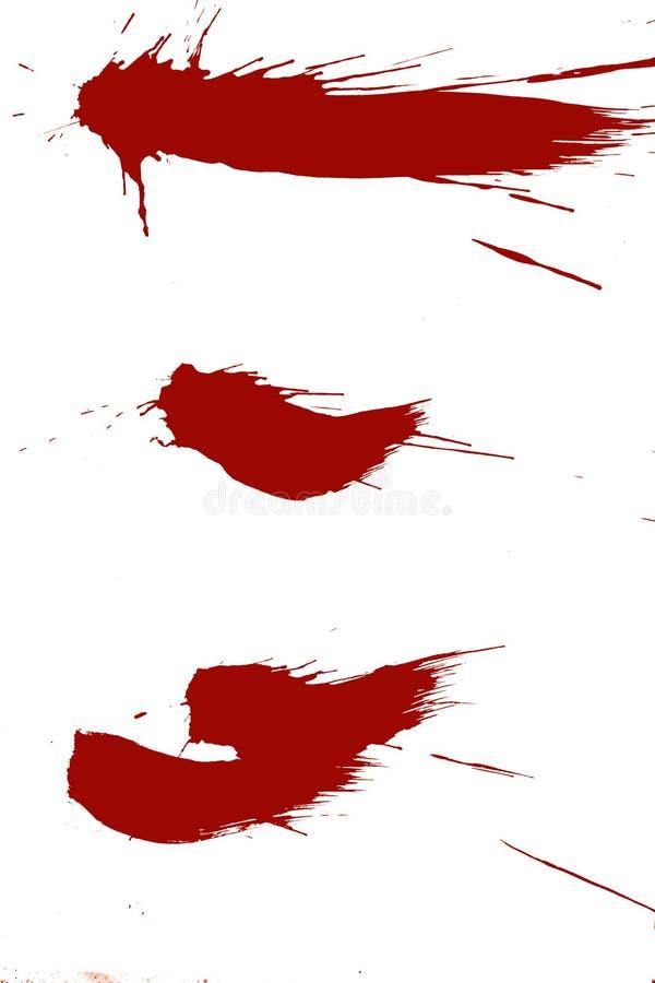 Tinta de Grunge imagenes de archivo