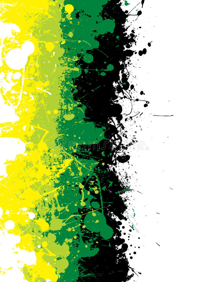 Tinta de Grunge sutil stock de ilustración