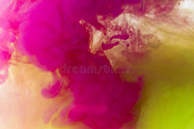 Tinta e óleo abstratos de fundo imagens de stock royalty free