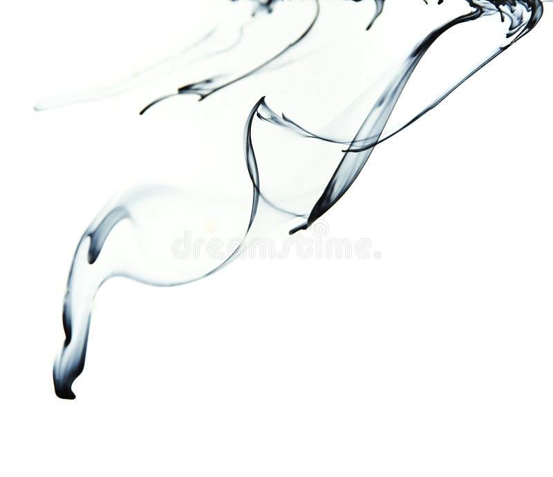 Tinta en agua foto de archivo libre de regalías