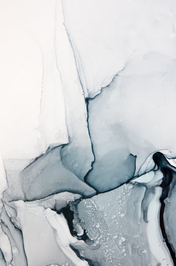 Tinta, pintura, abstrata Fundo abstrato colorido da pintura pintura de óleo Alto-textured DetaInk de alta qualidade, pintura, abs ilustração stock