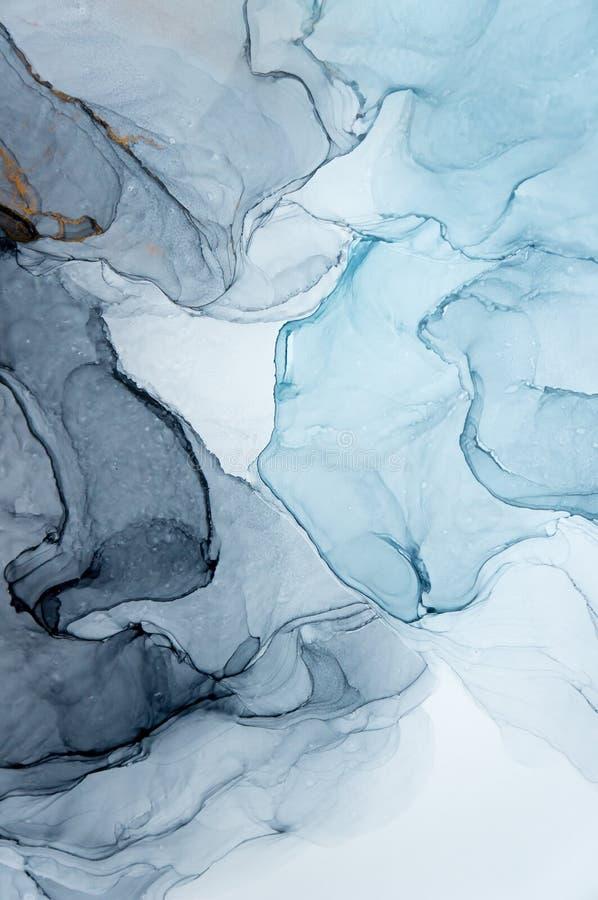 Tinta, pintura, abstrata Fundo abstrato colorido da pintura pintura de óleo Alto-textured DetaInk de alta qualidade, pintura, abs ilustração royalty free