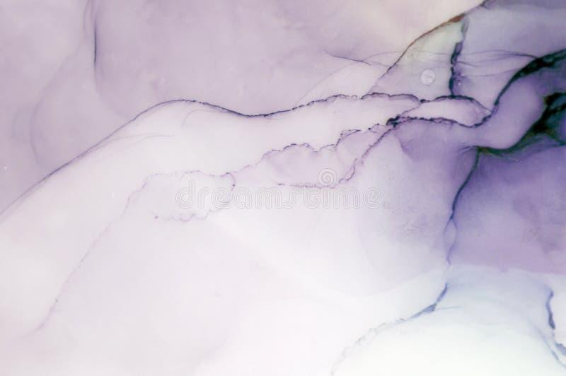 Tinte, Farbe, abstrakt Bunter abstrakter Malereihintergrund Hoch-strukturierte Ölfarbe Deta der hohen Qualität stockbilder