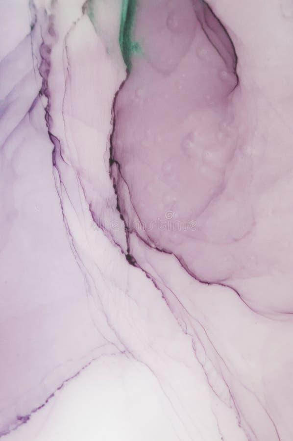 Tinte, Farbe, abstrakt Bunter abstrakter Malereihintergrund Hoch-strukturierte Ölfarbe Deta der hohen Qualität stockfoto