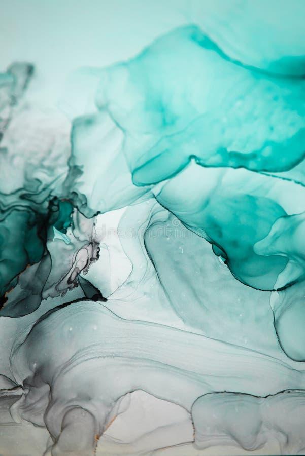 Tinte, Farbe, abstrakt Bunter abstrakter Malereihintergrund Hoch-strukturierte Ölfarbe DetaInk der hohen Qualität, Farbe, abstrak stockbild