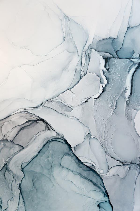 Tinte, Farbe, abstrakt Bunter abstrakter Malereihintergrund Hoch-strukturierte Ölfarbe DetaInk der hohen Qualität, Farbe, abstrak vektor abbildung