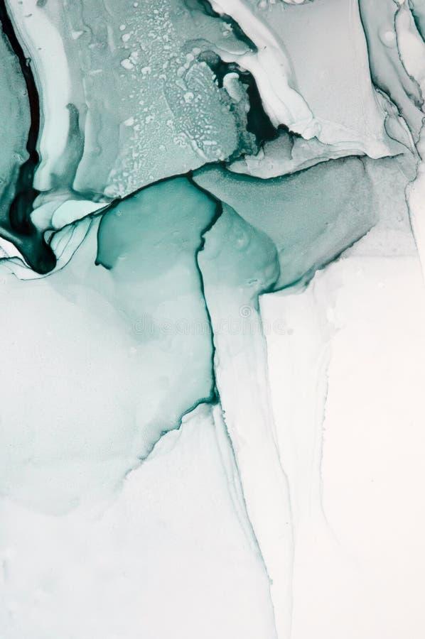 Tinte, Farbe, abstrakt Bunter abstrakter Malereihintergrund Hoch-strukturierte Ölfarbe DetaInk der hohen Qualität, Farbe, abstrak stockfotos