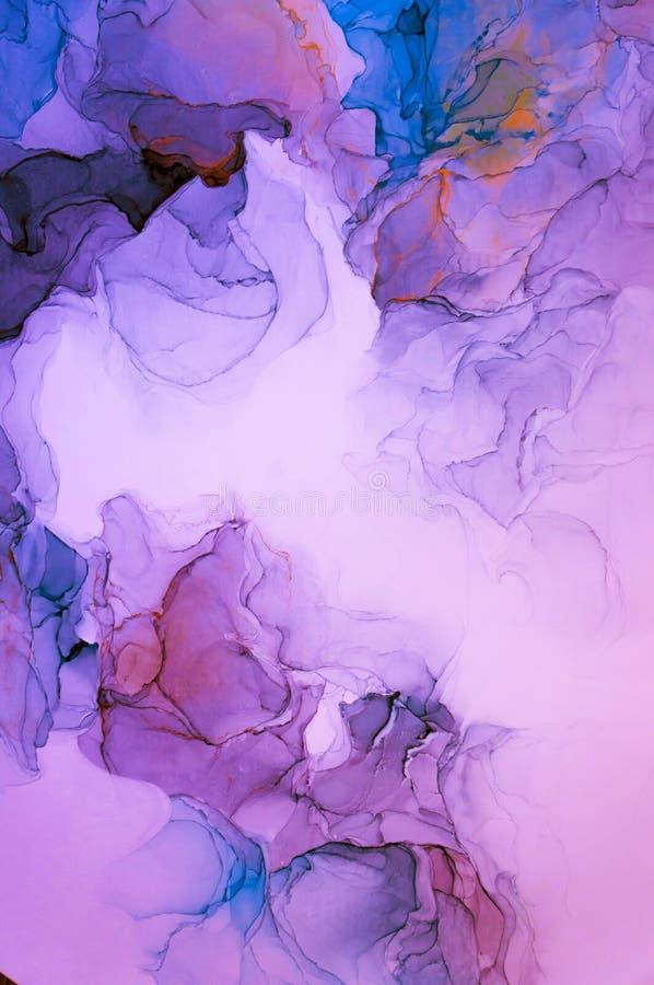Tinte, Farbe, abstrakt Bunter abstrakter Malereihintergrund Hoch-strukturierte Ölfarbe DetaInk der hohen Qualität, Farbe, abstrak lizenzfreies stockfoto