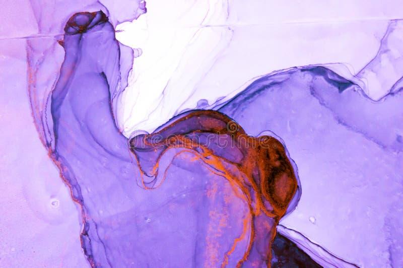 Tinte, Farbe, abstrakt Bunter abstrakter Malereihintergrund Hoch-strukturierte Ölfarbe DetaInk der hohen Qualität, Farbe, abstrak stockfoto
