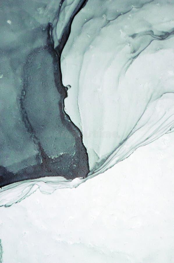 Tinte, Farbe, abstrakt Nahaufnahme der Malerei Bunter abstrakter Malereihintergrund Hoch-strukturierte Ölfarbe Deta der hohen Qua lizenzfreies stockfoto