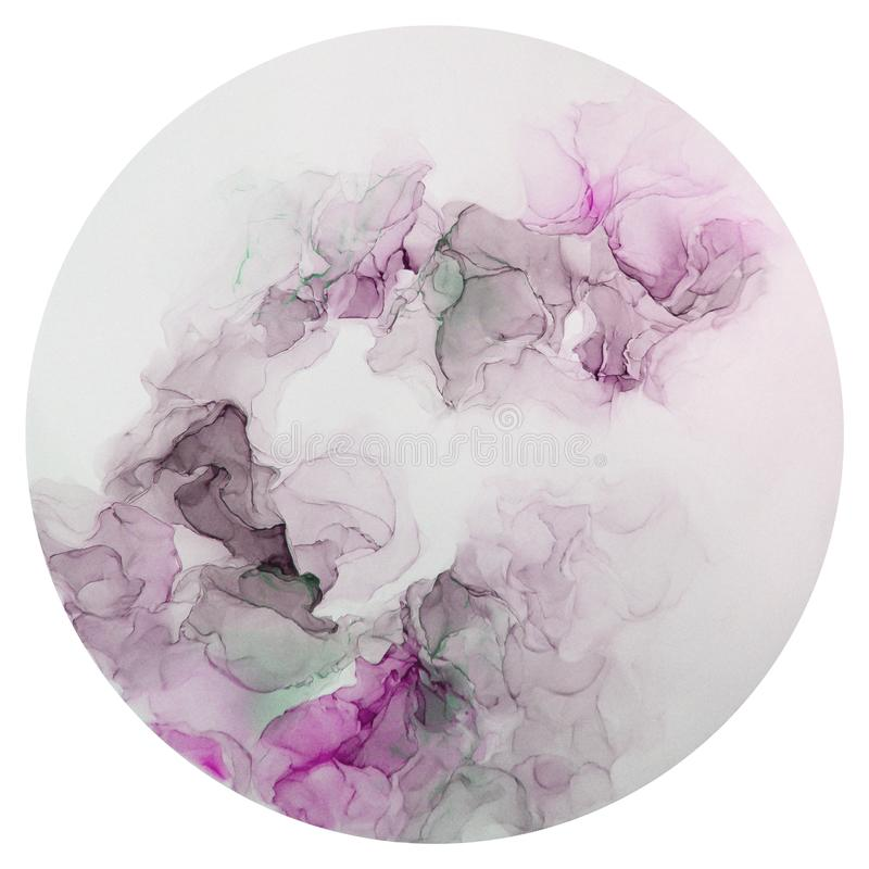 Tinte, Farbe, abstrakt Nahaufnahme der Malerei Bunter abstrakter Malereihintergrund Hoch-strukturierte Ölfarbe Deta der hohen Qua lizenzfreie stockbilder