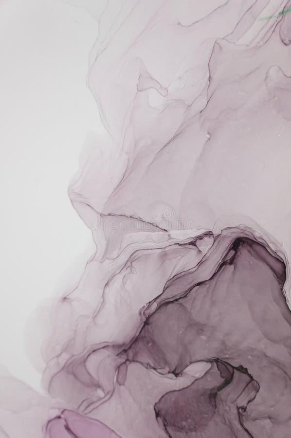 Tinte, Farbe, abstrakt Nahaufnahme der Malerei Bunter abstrakter Malereihintergrund Hoch-strukturierte Ölfarbe Deta der hohen Qua stockbild