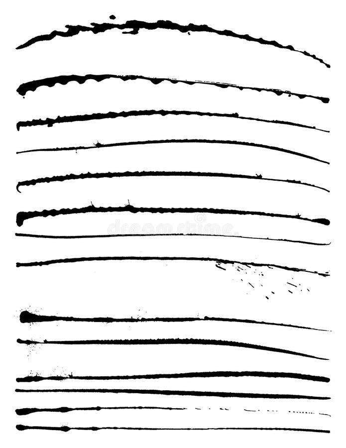 Tinte Splat stock abbildung
