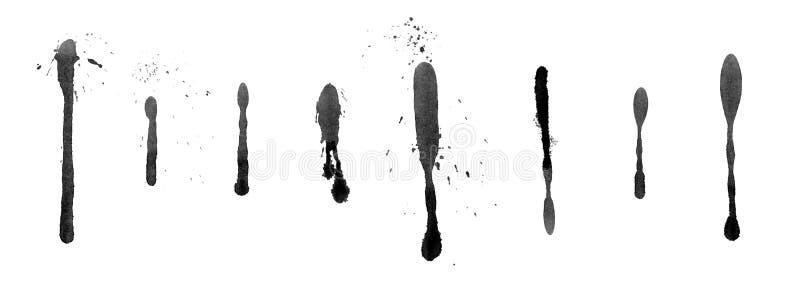 Tinte Splatter lizenzfreie abbildung