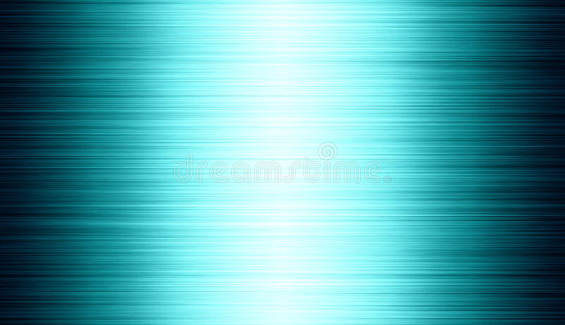 Tinted brushed metal: steel or aluminium texture background royalty free illustration