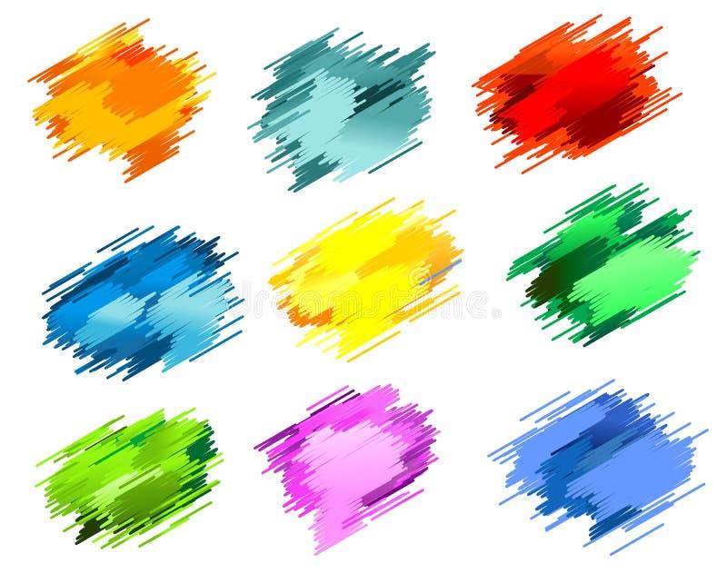 Tintenflecken lizenzfreie abbildung