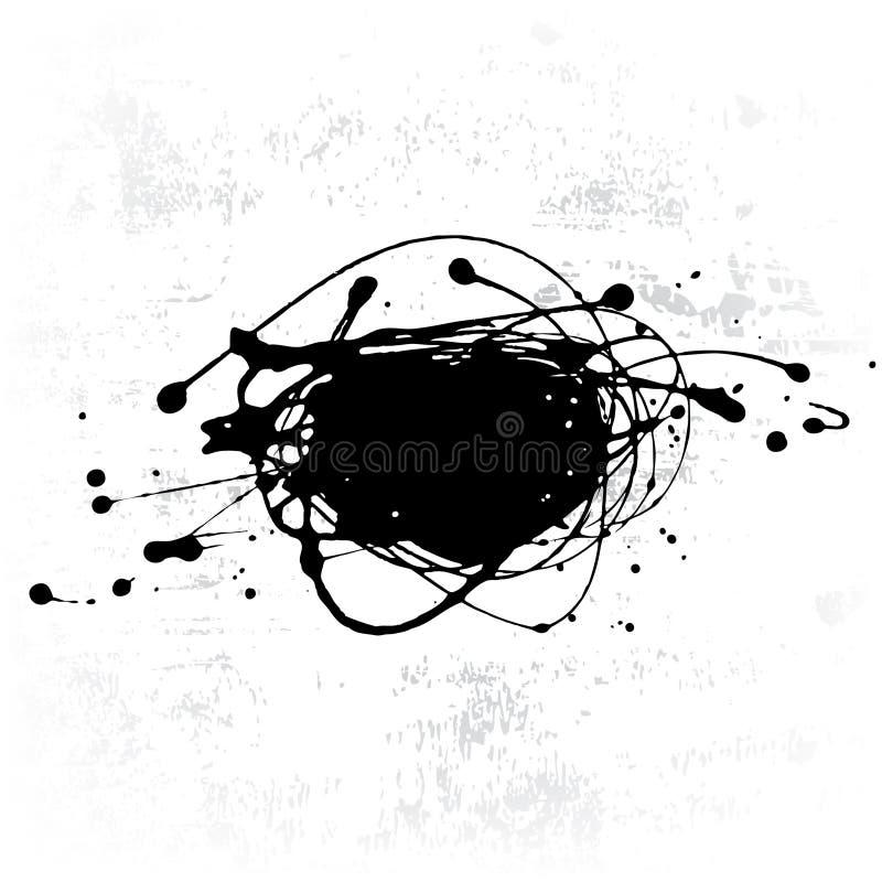 Tintenkleks lizenzfreie abbildung