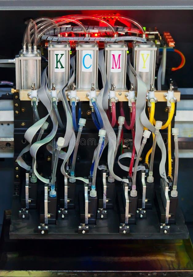 TintenstrahlDrucksystem stockbild