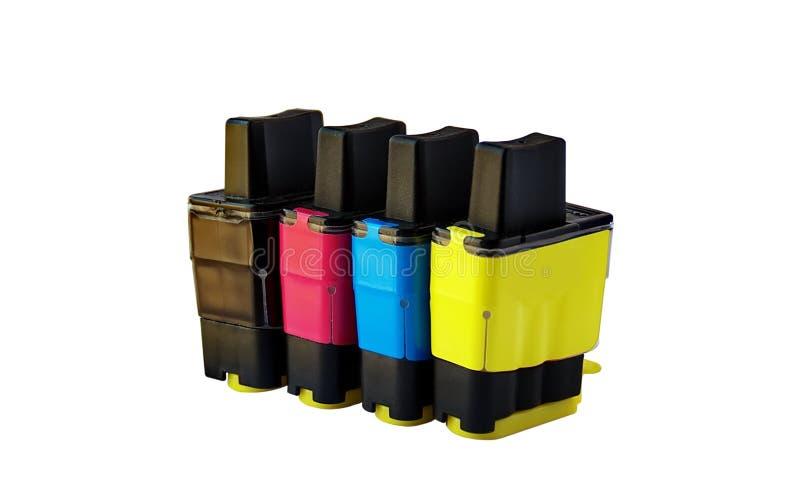 Tintenstrahlkassette stockbilder