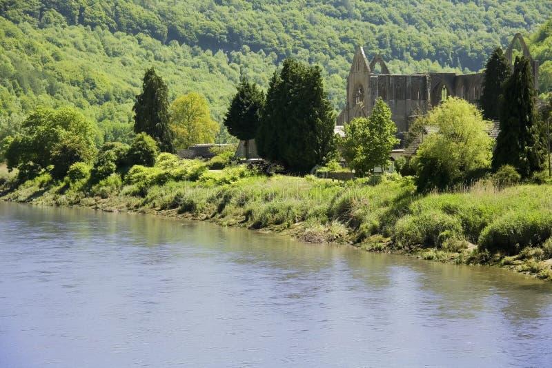 tintern的修道院 免版税图库摄影