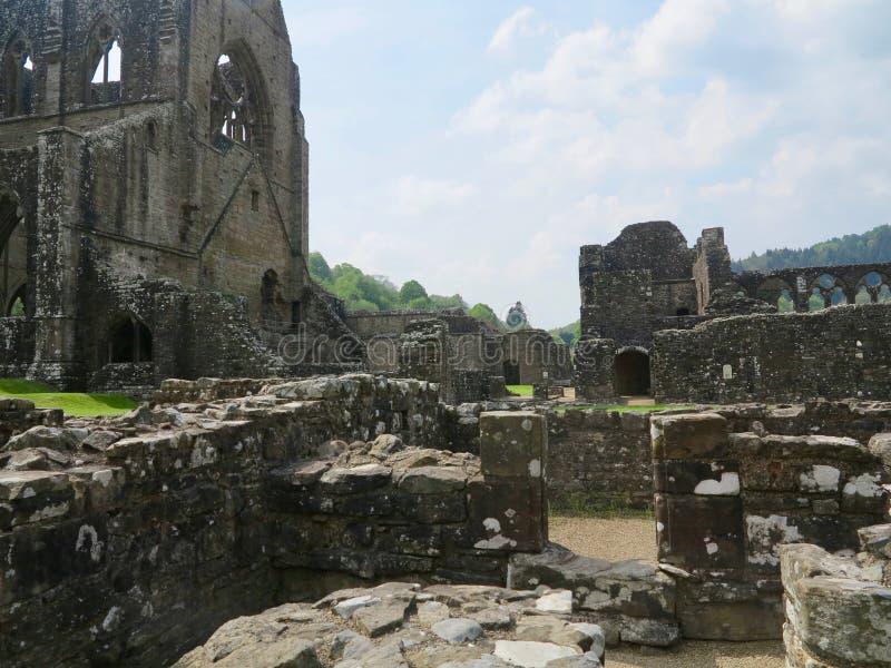 The surrounding ruin stock photography