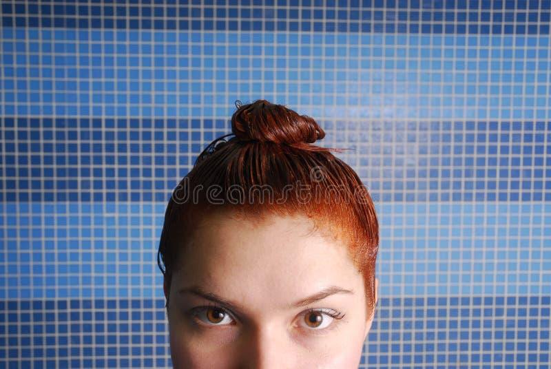 Tintura dei capelli immagini stock libere da diritti