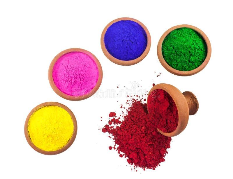 Tinturas coloridas imagens de stock
