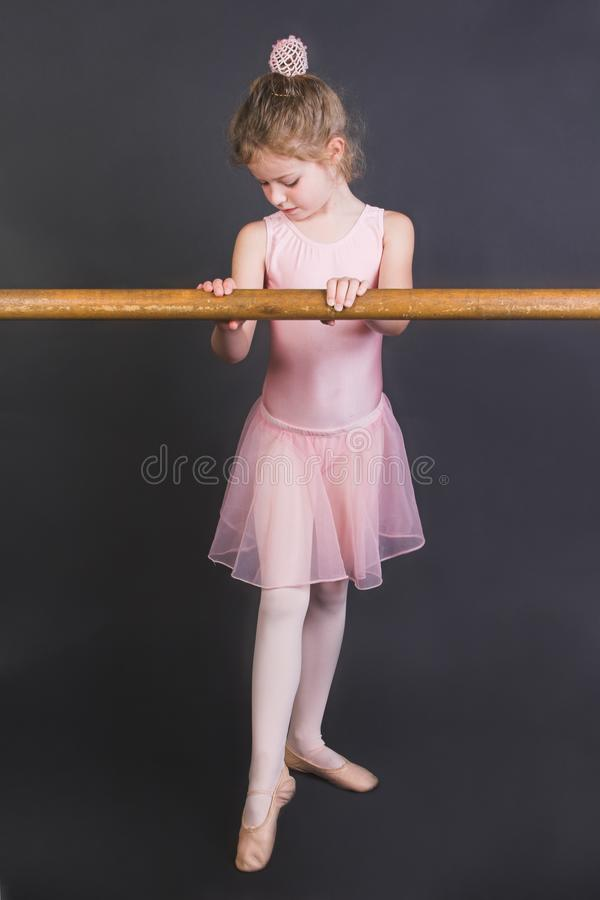 Tiny Ballerina stock photography