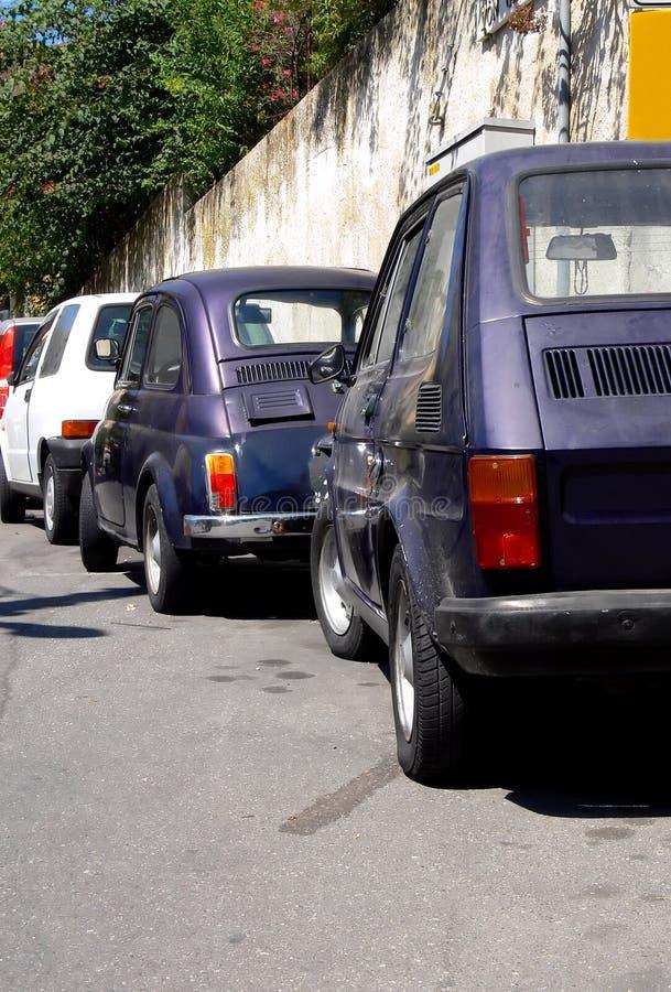 Tiny Car Park Royalty Free Stock Image