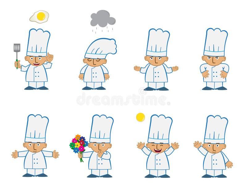 Tiny Chef Basic Stock Vector