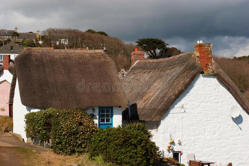 Cadgwith Cove Cornwall stock image