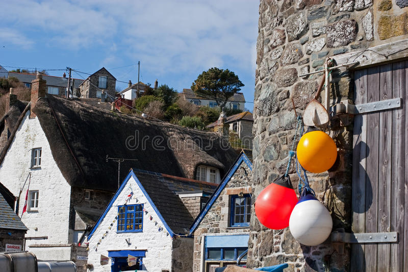 Cadgwith Cove Cornwall royalty free stock image