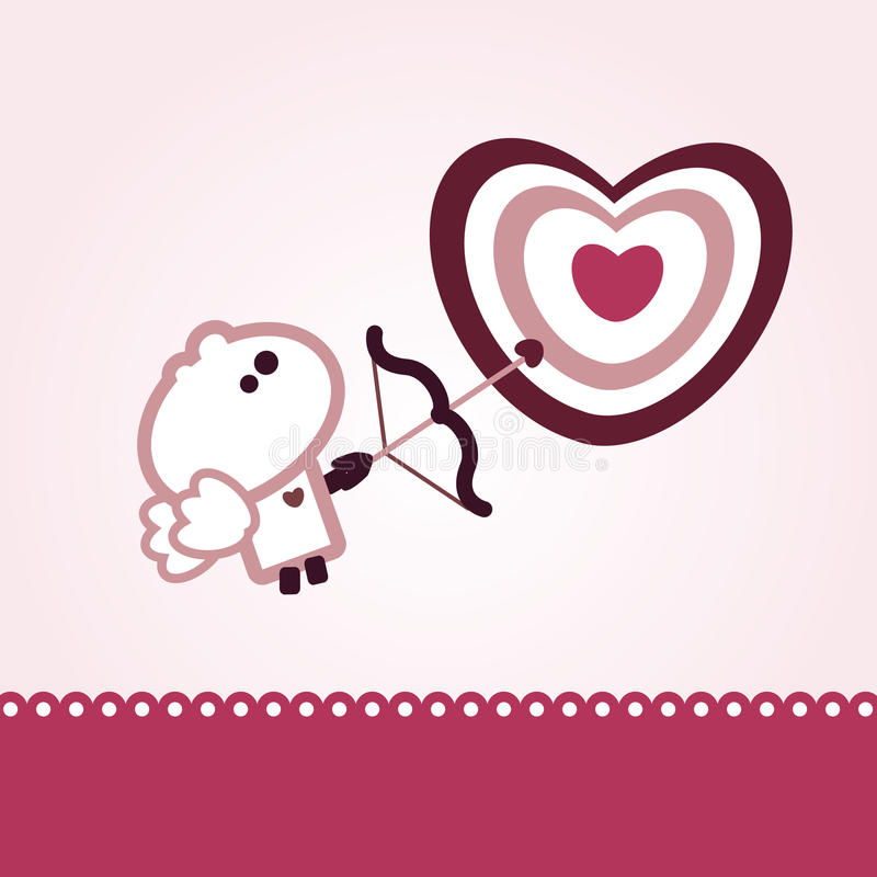 Download Tiny dude valentines day stock vector. Image of heart - 14541906