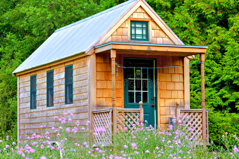 Tiny house stock images