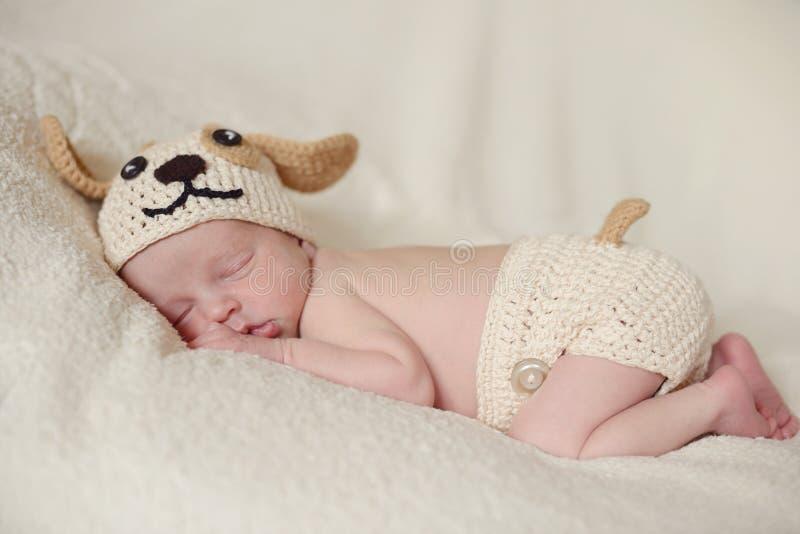 Tiny newborn royalty free stock photography
