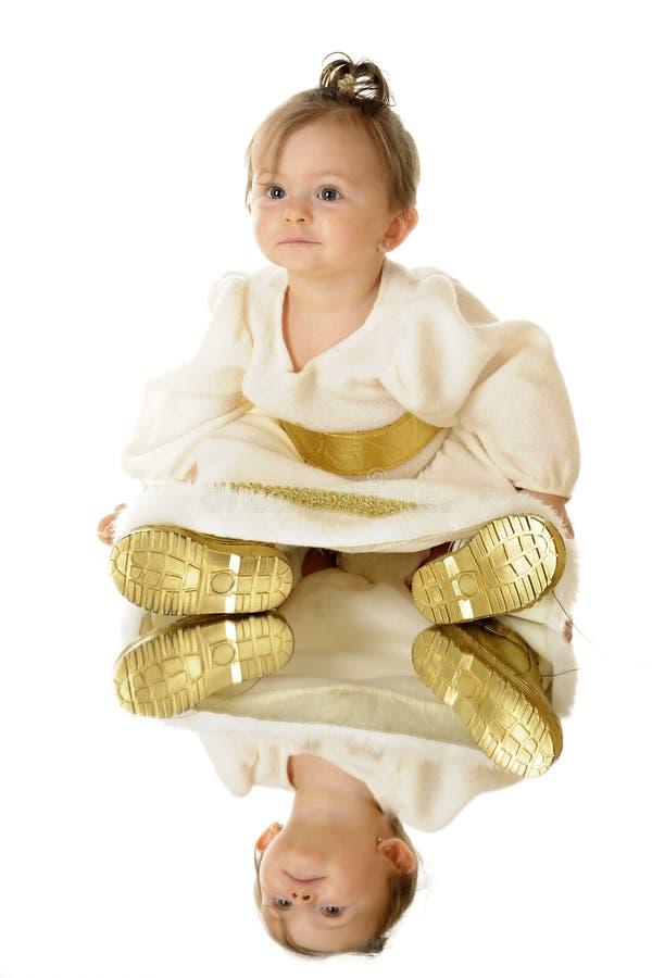 Download Tiny Snow Princess x 2 stock image. Image of adorable - 26710863