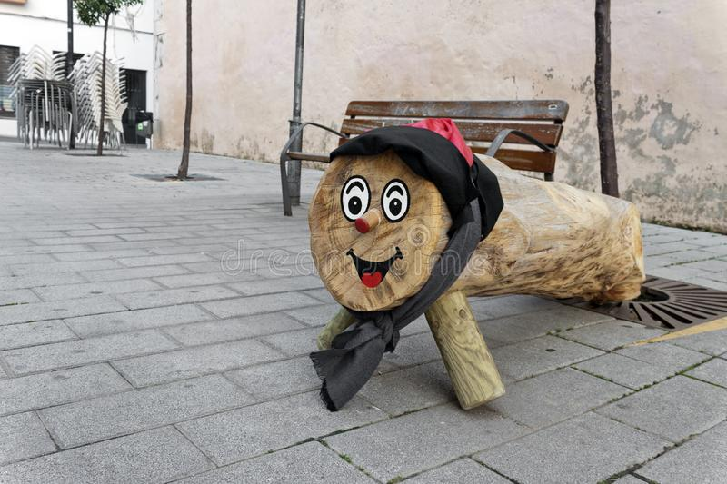 Tio de Nadal,  is a character in Catalan mythology relating to a Christmas tradition in Spain. Tio de Nadal,  is a character in Catalan mythology relating to a royalty free stock photos