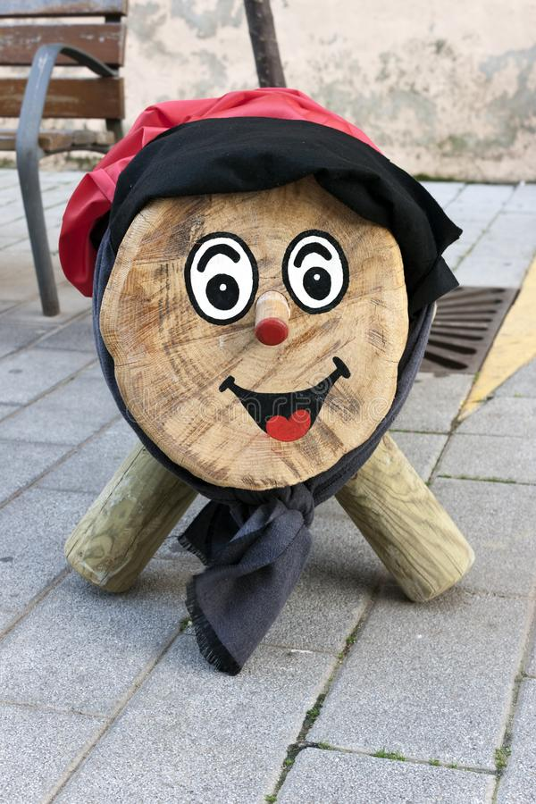 Tio de Nadal,  is a character in Catalan mythology relating to a Christmas tradition in Spain. Tio de Nadal,  is a character in Catalan mythology relating to a royalty free stock images